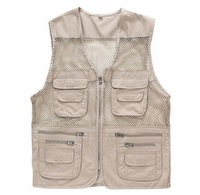 Z71047A 2014 NEWEST autumn fashion fishing man's waistcoats