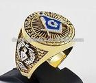 Masonic ring wholesale,classical masonic signet ring in gold