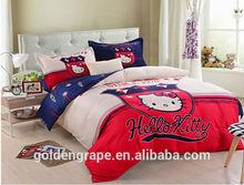 Kawaii lovely hellokitty bed sheet for children girls ,home sheet