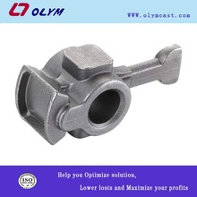 China OEM stainless steel investment casting packing machinery handle parts products