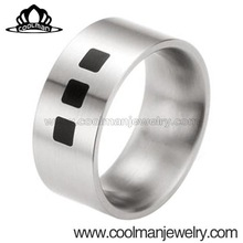 wholesale male costumes wedding ring moroccan stainless steel jewelry 316L stainless steel ring