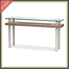 modern wrought iron luxury glass wood dining table set