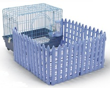 Dog Cage with Fences Pet Cage