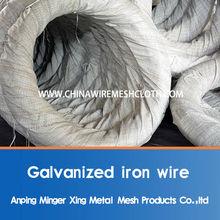 galvanized coat hanger wire