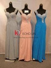 New design fashion long blue bridesmaid dress changing bridesmaid dress