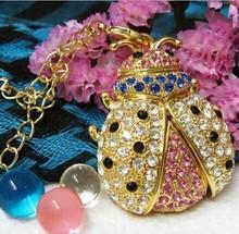 wholesale flash memory jewelry coccinella septempunctata shaped usb flash drive,Seven spotted ladybugs pendrive