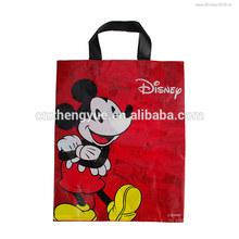 high quality usa popular cartoon non woven shopping bag/pp woven promotional bag/lovely animal printing bag