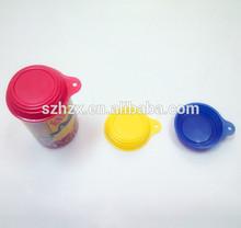 de calidad alimentaria de plástico de fácil apertura de aluminio tapa de la lata