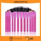 2014 Best Seller 18pcs Rose Red Popular America Brush High Quality Professional Make Up /Makeup Brush Sets Manufacturer