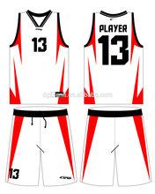 2014 oem custom basketball uniform design for basketball team