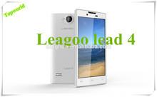 Cheap China Smart Phone Original leagoo lead4 MT6572 Dual core 1.0Ghz 512MB RAM+4GB ROM Android 4.2.2 WCDMA 850/1900/2100