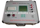Export standard 200V 3A lab standard ground resistance tester china