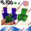 Small Pop tops Medical Cannabis plastic vials with snap caps