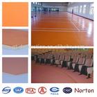 ISO4001coloful PVC sports flooring rolls NTF-028