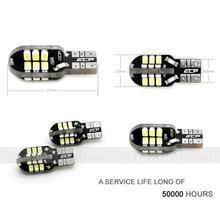 12V Canbus led light bulbs Bullet Shape 24 SMD 1206 T10 W5W 194 168 led dashboard light