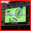 20mm Pixels and video, animation Display Function transparent glass led display