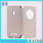 Mobile phone flip leather phone case cover for asus zenfone 5