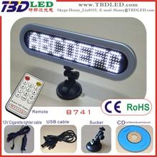 mini led display led scrolling message mini display support OED/ODM