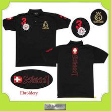 Custom high quality XXXXXL polo shirts design with embroidery brand logo