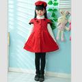 2014 novo design puffy flower girl dress, meninas da princesa batismo vestido atacado