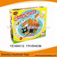 2014 Cute design ice cream play dough, colour clay, DIY colour clay for kids YZ1404112