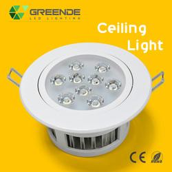 Energy Saving 1200lm 12w LED Ceiling Light Luxury