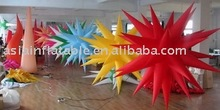 2014 new exhibition supply/party decoration/stage decoration inflatable LED illuminated star