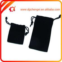 durable large storage custom sizes velvet bag for gift