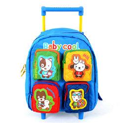 New Design Popular Kids School Trolley Bag Kids Trolley School Bag
