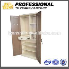 2014 new corner wooden almirah designs