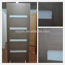ที่มีคุณภาพดีและการออกแบบที่ดีประตูไม้ที่เป็นของแข็งvd-002