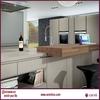 mdf wooden subwoofer 2.1 speakers kitchen cabinet