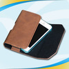 slim magnet leather flip customized leather case for iphone 5s