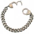 personalizzati argento e oro Keith Richards braccialetto manetta