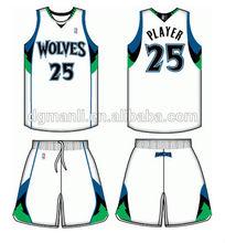 dye sublimation jersey basketball design