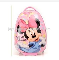 cartoon minnie luggage for kids