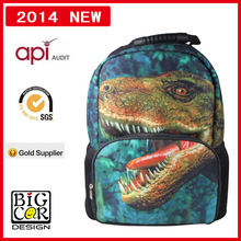 2014 School Bag With Wheels Cheap, Backpack Dinosaur
