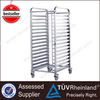 Shinelong Supplier Hot Sale Bakery Food Stainless Steel Tray Trolley