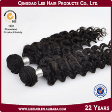 Natural Virgin Unprocessed Tangle and Shedding Free Virgin Indian Deep Curly Hair