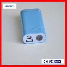 innovative design 3000mAh power bank rechargeable external battery