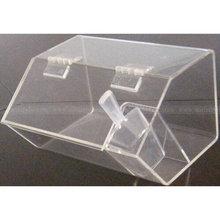 Mini Plastic Sweets Box With Scoop, Custom Acrylic Candy box