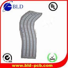Flexible black pcb smd led strip&flexible pcb&flexible pcb for led