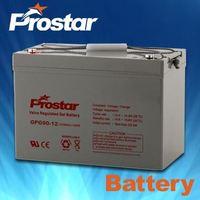 Advanced Gel Rechargeable Battery Solar System Battery 12V 90AH