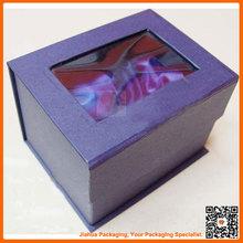 customized cosmetic box packaging window oem