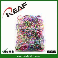 FREE SAMPLES rubber bands/ elastic heart bracelet