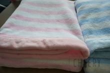 100% cotton woven baby throw blanket