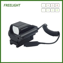 Red Dot Sight Riflescope for Paintball game Airsoft With Red Laser sight 1x22x33 holographic sight scope