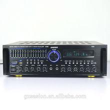 hifi 5.1 channels professional aluminum amplifier case