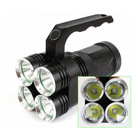 qeegas high power high quality Cree XM-L T6 led 4000 lumens japen torch flash light long rang long distance
