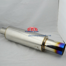 Stainless Car exhaust muffler with high quality
